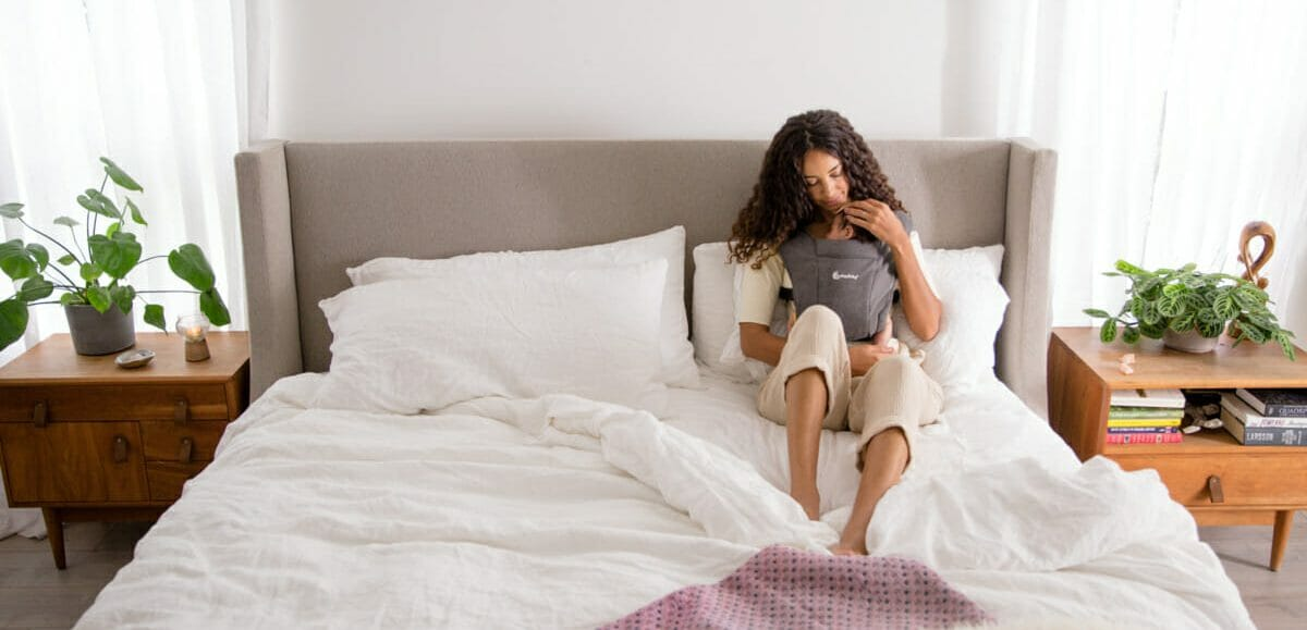Draagzakken borstvoeding